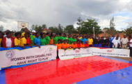 WOMEN'S SITTING VOLLEYBALL LOCAL COMPETITION HELD at Centre de Jeunes BUGESERA