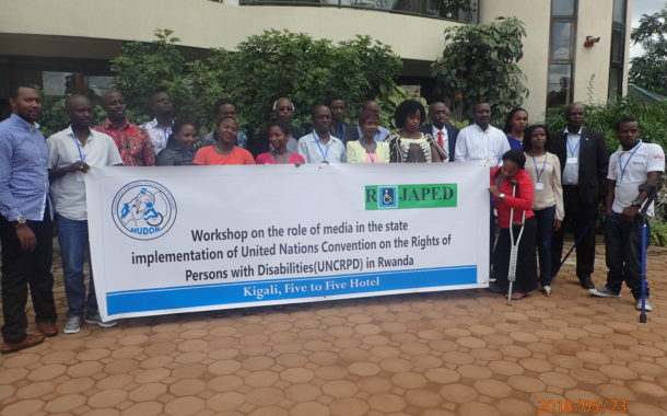NUDOR organized workshop on the role of Media in State implementation of the UNCRPD in Rwanda
