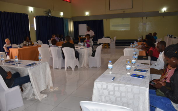 NUDOR and VSO Rwanda conducted IRPWD workshop at the Champion Hotel, Kigali