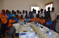 Rwanda Girl Guides representatives committed to work with NUDOR after being trained.