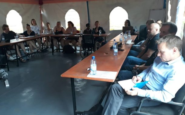 DPOD delegation visited Rwanda Disability Organizations