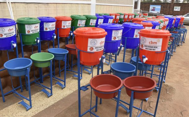NUDOR is distributing more than 1000 Hand washing facilities (Step and washes) to reduce the Speed of Corona Virus in Rwanda.